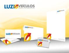JuRehder - Criação de Logo e material institucional para Luzio Veículos - Campinas/SP.