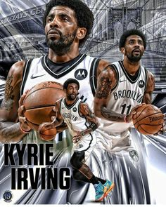 kyrie irving nets Brooklyn's Finest, Brooklyn Nets, Kyrie Irving, Nba, Basketball, Board, Movie Posters, Movies, Fictional Characters