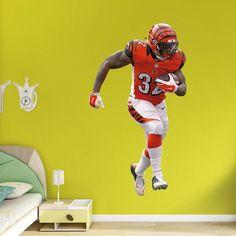 Fathead NFL Cincinnati Bengals Jeremy Hill Wall Decal - 12-21466