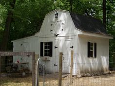 Goat barn with Chicken coop on the side?