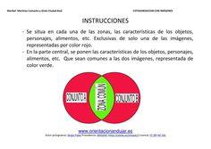 COLECCIÓN DE FICHAS compara Y contrasta categorizando con diagramas de venn