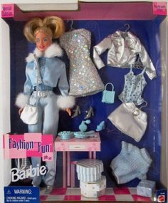 Barbie Fashion Fun Gift Set with 3 Different Outfits *** You can get more details by clicking on the image.