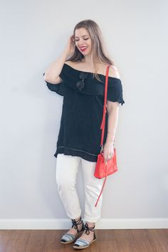 RD Style Roquette Off the Shoulder Tunic