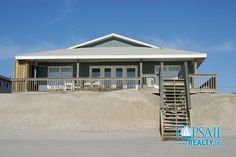 Vacation Rental Topsail Beach-S. Anderson Area & Oceanfront | BLUE SHAMU