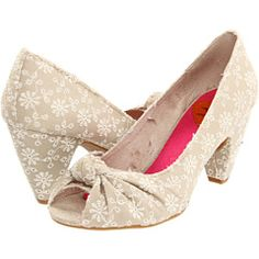 these are my perfect wedding shoes! I like the eyelet design