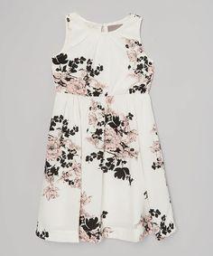 White Liv Dress - #zulily #zulilyfinds
