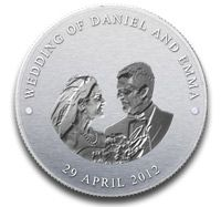 Wedding Coins Imprinted With A Unique Delight That Enhances The Charm Of