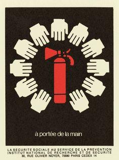 «A portée de main» (1976) de Bernard Chadebec («Trésors de l'INRS», de Cizo et Felder, éd. Les Requins marteaux/INRS, avril 2012)