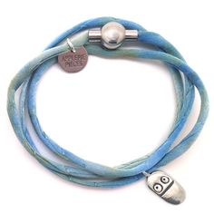 Happy pill silk armband from Applepiepieces