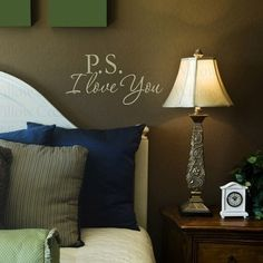 This would be really cool for the back of a bedroom wall.  This way, one you and your love get to see it!