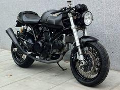 Ducati in black
