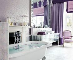 40 Lavender Rooms That Will Sweep You Right Off Your Feet  Add a touch of femininity to your home by adding a bout of pastel purple to a bedroom accent wall or even inside the office.Lavenderrooms have the ability to sweep you right off your feet and hone in a feeling of warmth and romance. Check out these 40 gorgeous examples and inspire your own space!  1. Elegant  Breathe a bit of romance into any nook of the house with a coat of pastel purple and the right kind of furniture pieces…