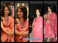 Akkineni Amala in Chanderi silk saree – BoutiqueSarees.com
