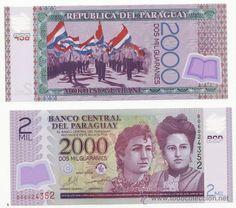 PARAGUAY - 2000 GUARANIES (POLYMERO) - AÑO 2009