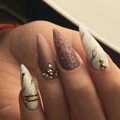 How is your week going? is it as beautiful as our nails? #nails #love #inspiration #manicure
