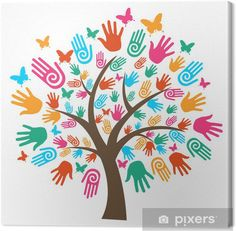 Illustration about Isolated diversity tree hands illustration. Vector file layered for easy manipulation and custom coloring. Illustration of hands, communication, crowd - 24720737 Hand Illustration, Free Vector Images, Vector Art, Vector File, Vector Stock, Eps Vector, Harmony Day, Fall Paper Crafts, Manipulation