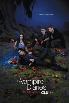 the vampire diaries season 1 posters | The Vampire Diaries Promotional Poster | House of Vampires