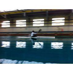 Jess Walker ripping up the Qinetiq Ship Tank in training