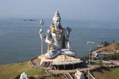 World's Largest Shiva, Murudeshwar - Murudeshwar, Karnataka
