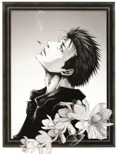 """Some illustrations of the collection of images """"Salty Dog VIII"""". The four portraits of Saiyuki Gaiden are new."""