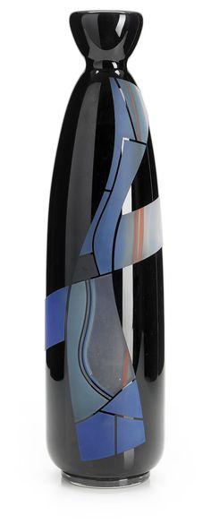 ** Klas Göran Tinbäck, (Sweden, 1951), Glass Vase.