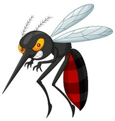 Illustration about Illustration of Angry mosquito cartoon. Illustration of illustration, mosquito, wing - 45854456 Cartoon Pics, Cute Cartoon Wallpapers, Cartoon Characters, Cartoon Picture, Mosquitos, Baby Animal Names, Baby Animals, Free Vector Illustration, Vector Art