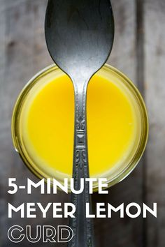 Easy Microwave Citrus Curd ~ turn any fresh citrus juice into a luxurious, creamy, spread in only minutes, using your microwave! Meyer Lemon Recipes, Lemon Desserts, Just Desserts, Dessert Recipes, Bourbon Drinks, Whiskey Cocktails, Fireball Drinks, Microwave Recipes, Cooking Recipes