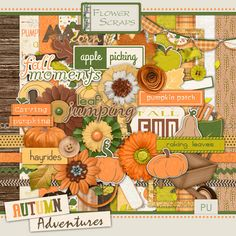 Autumn Adventures - $3.24 : Digital Scrapbooking Studio