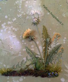 Объемная вышивка гладью Художественная вышивка Розы Андреевой  Ярмарка Мастеров - ручная работа, handmade