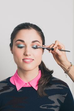 Eye Spy: 9 DIY Looks For YOUR Eye Color - Blue #refinery29
