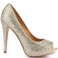 H&M Glittery Ballet pumps   Beautiful, Pump and Wedding
