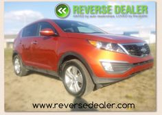 This beautuful color sporty FWD Kia sportage has Heated cloth seats, remote start, a brand new battery, 2nd set of winter tires rims, VERY low km's  www.reversedealer.com Winter Tyres, Kia Sportage, 2 Set, Used Cars, Remote, Sporty, Vehicles, Color, Rolling Stock