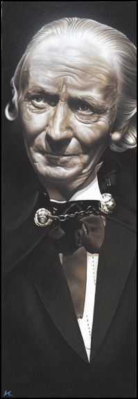 Doctor Who  -  The 1st Doctor by caldwellart.deviantart.com