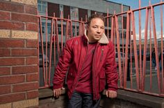Top British Actor Stephen Graham is the new face of LUKE We're fans. Jacob Marley, Stephen Graham, British Actors, New Face, Our Girl, Fans, Men Casual, Mens Tops, Casual Male Fashion