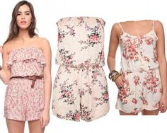 lovely floral rompers ( :
