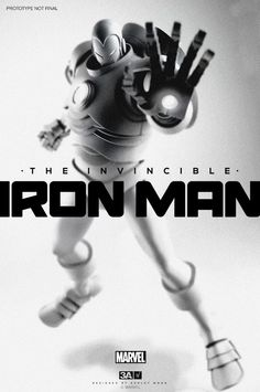 via Super Punch: threeA's Iron Man prototype.