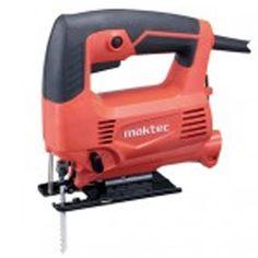 "Informasi Produk          Kode : 08000000701 Nama : Mesin jigSaw Merk : Maktec Tipe : MT 431 Status : Siap Berat Kirim : 3,5 kg  Spesifikasi Produk          Daya Listrik : 450 Watt Kapasitas Memotong pada kayu pada : 0° 65mm (2-9/16 """") Kapasitas Memotong pada baja pada : 0° 6mm (1/4 """") Panjang langkah : 18mm (11/16 """") Langkah per menit : 0 - 3.100 spm Power supply kabel : 2.0m (6.6ft) Garansi : - bulan Made in : China"