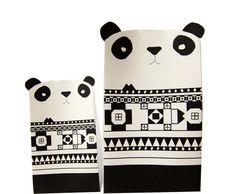3 Gift Boxes - PANDAS. $7.90, via Etsy. ummmm anybody wanna gift me something? ;)
