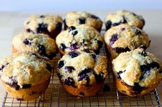 When blueberries first show up at the market, it feels like sacrilege to bake…