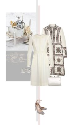 """Mainly white Valentino"" by mrs-box ❤ liked on Polyvore"