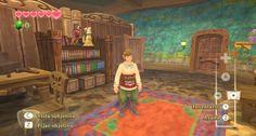 The Legend of Zelda: Skyward Sword  1080p  - Habitación de Link
