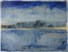 Rodrigo Ferreira Rivage Bleu - P56)06 2014 Oil x Paperboard 50 cm x 65 cm  #RodrigoFerreira #Landscape #Oil #Paintings #SãoMamede #SãoMamedeArtGallery #Exhibition #Oporto #Portugal #Art #Artwork #France