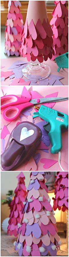 Party DIY ● Tutorial ● Valentine Heart Tree