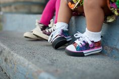 Baby Girls. Best Friends. Rocking Shoes.