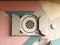 Argo | Darts Cabinet | Salone del Mobile Game Tables, Table Games, Dart Board Cabinet, Walnut Doors, Argo, Luxury Homes, Art Pieces, Design, Board Games