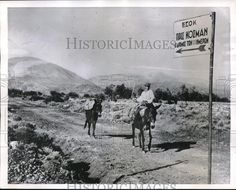 1951 Press Photo The Road of 100 Days New Road Kosmas Greec Old Greek, Press Photo, 100th Day, New Day, How To Find Out, The 100, Photographs, News, World