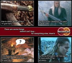LOTR MasssterCard advert