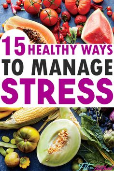 Learning how to manage and tackle your stress is one of the most important aspects to losing weight or achieving any health related goal. Here is a list of 15 ways that I find help me eliminate stress in order to move forward with my health goals. Coping Strategies For Stress, Coping With Stress, Dealing With Stress, Stress Yoga, Stress And Anxiety, Health Goals, Health And Wellness, Coping Mechanisms, Organic Living