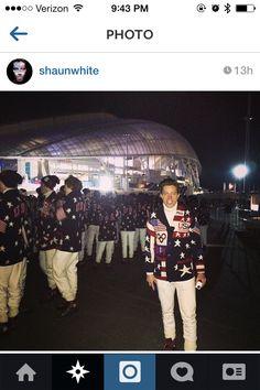 Shaun White #Sochi14