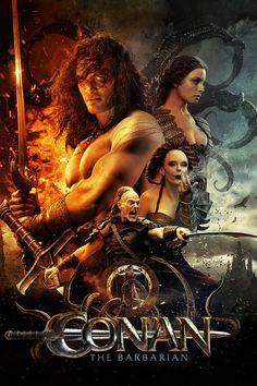 conan the barbarian, jason momoa, movie poster